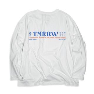 アンユーズド(UNUSED)のYSTRDY'S TMRRW L/S BAGGY TEE Ray Coal 別注(Tシャツ/カットソー(七分/長袖))