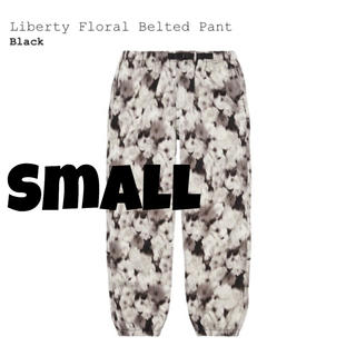 Supreme - 【S】Supreme Liberty Floral Belted Pant