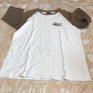 STUSSY - ステューシー  半袖 七分 Tシャツ XL