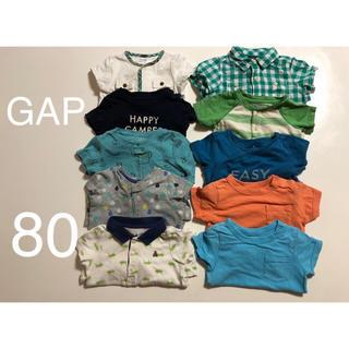 GAP - gap GAP 80 男の子80 ロンパース80