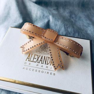 Alexandre de Paris - アレクサンドル・ドゥ・パリ リボンバレッタ