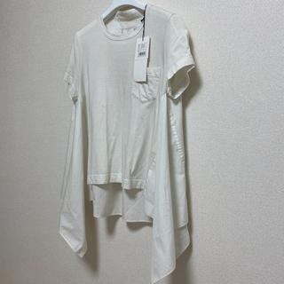 sacai - 【2020SS】★sacai サカイ★ 紙タグ付 シャツ プルオーバー