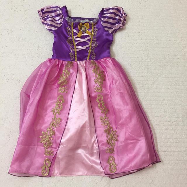 ラプンツェル ドレス キッズ/ベビー/マタニティのキッズ服女の子用(90cm~)(ドレス/フォーマル)の商品写真