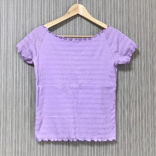 ジーユー(GU)の《新品・送料込み》早い者勝ち♪ メロウデザイン ストレッチTシャツ(Tシャツ(半袖/袖なし))