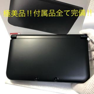 ニンテンドー3DS - ★極美品‼︎ Nintendo 3DS  LL 本体ブラック 送料込み‼︎