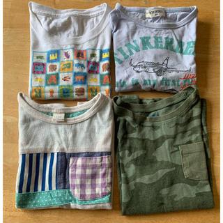 ティンカーベル(TINKERBELL)のTシャツ 100cm 4枚 まとめ売り (Tシャツ/カットソー)