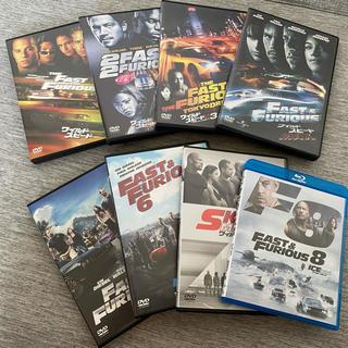 ユニバーサルエンターテインメント(UNIVERSAL ENTERTAINMENT)のワイルド・スピードDVD Blu-ray 1〜8(外国映画)