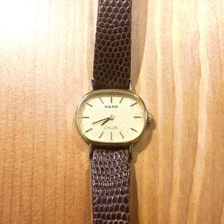 ラドー(RADO)の腕時計 メンズ レディース ラドー シルエット 手巻き 手巻き時計 時計(腕時計(アナログ))