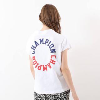 champion バックプリント スリーブレス Tシャツ 新品未使用