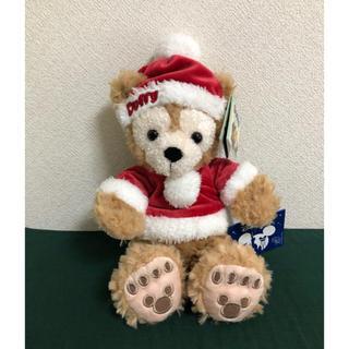 ダッフィー(ダッフィー)の海外ダッフィー ☆ クリスマス ぬいぐるみ(キャラクターグッズ)
