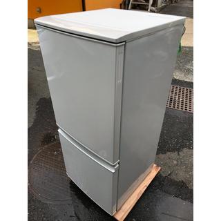 SHARP - SHARP 2ドア冷蔵庫 SJ-D14B-W 2016