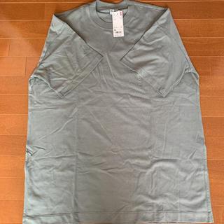 ユニクロ(UNIQLO)の新品未使用!ユニクロコットンオーバーサイズチュニック(Tシャツ(半袖/袖なし))
