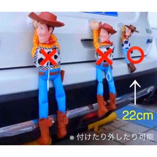 ディズニー(Disney)のトイストーリー 車 しがみつき♡ミニ 付け外し可能✨ウッディ ディズニー 44(車外アクセサリ)