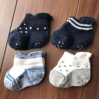 ムジルシリョウヒン(MUJI (無印良品))のベビー キッズ 靴下 11〜13cm(靴下/タイツ)