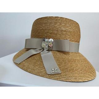 クレージュ(Courreges)のクレージュ 麦わら帽子 (麦わら帽子/ストローハット)