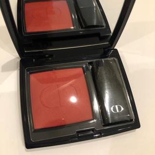 ディオール(Dior)の新品未使用 Dior ROUGE BLUSH ルージュブラッシュ 999 チーク(チーク)