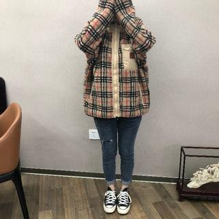 バーバリー(BURBERRY)のBurberry Reversible Fleece Jacket(ブルゾン)