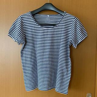 イッカ(ikka)のikka 半袖ボーダーTシャツ(Tシャツ(半袖/袖なし))