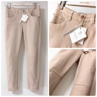 ブルネロクチネリ(BRUNELLO CUCINELLI)の新品 ブルネロクチネリ38  後染め デニム 16SS ジーパン ズボン パンツ(デニム/ジーンズ)