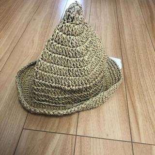 futafuta - バースデイ 麦わら帽子 とんがり 48cm 新品タグ付き