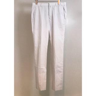 ジルサンダー(Jil Sander)のJIL SANDER SS pants off white 46(スラックス)