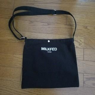 ミルクフェド(MILKFED.)のミルクフェドサコッシュ ショルダーバッグMILKFED.エックスガール(ショルダーバッグ)