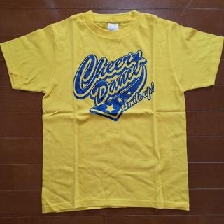 チアー(CHEER)のチアダンス チアリーディング ラメTシャツ 黄色 バトントワリング 応援団(ダンス/バレエ)