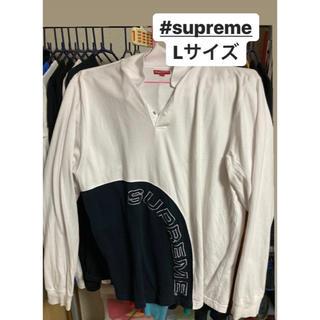 シュプリーム(Supreme)のSupreme arc logo polo l/s(ポロシャツ)