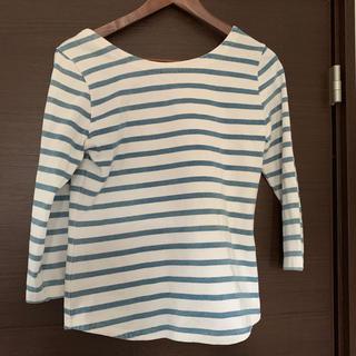 ロンハーマン(Ron Herman)のロンハーマン  バックオープンカットソー 田中彩子 ayako  bag(Tシャツ(長袖/七分))