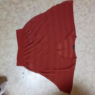 インディビジュアル(INDIVIDUAL)のニットカットソー(カットソー(半袖/袖なし))