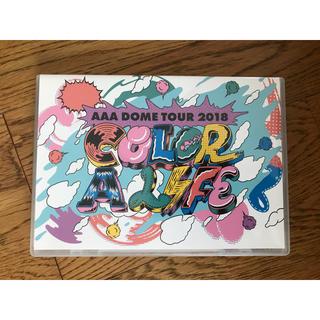 トリプルエー(AAA)のAAA COLOR A LIFE 通常盤Blu-ray(ミュージック)