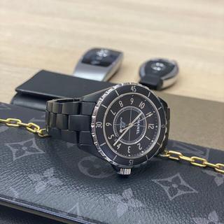 シャネル(CHANEL)のシャネル J12 42mm マットブラックセラミック(腕時計(アナログ))
