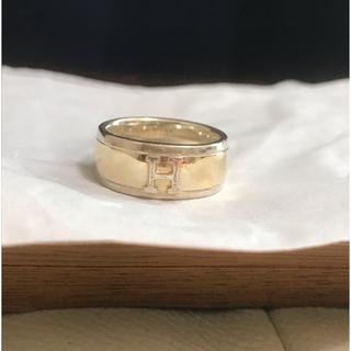 エルメス(Hermes)のエルメス Hロゴリング(リング(指輪))