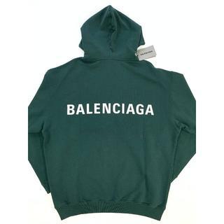 Balenciaga - 新品 バレンシアガ ロゴ バックプリント オーバーサイズ パーカー