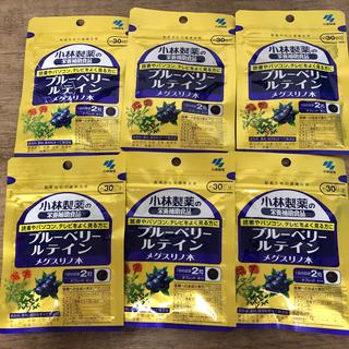 小林製薬 - 小林製薬 ブルーベリー ルテイン メグスリノ木 30日分×6袋