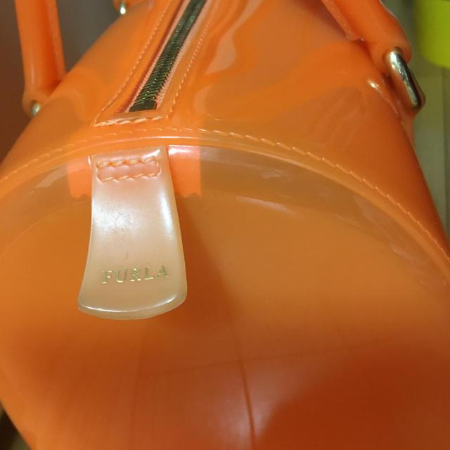 Furla(フルラ)の未使用♪フルラFURULA♪キャンディバッグ♪オレンジ レディースのバッグ(トートバッグ)の商品写真