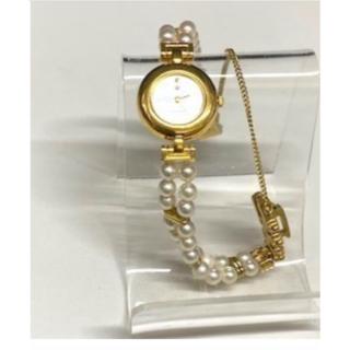 ミキモト(MIKIMOTO)のJAL限定ミキモト MIKIMOTO パールウォッチ 2蓮40パール (腕時計)