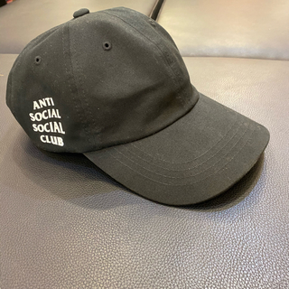 アンチ(ANTI)のAnti Social Social Club WEIRD CAP BLACK (キャップ)