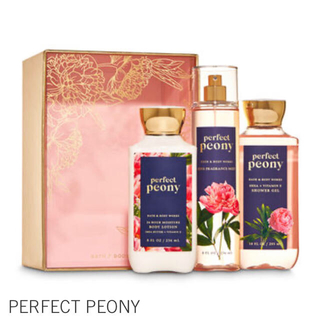Bath & Body Works - Bath&Body Works PERFECT PEONY ギフトボックスセット