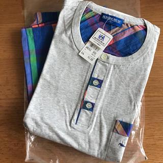 マンシングウェア(Munsingwear)の【未使用】マンシング半袖Tシャツ&ボトムセットXL(Tシャツ/カットソー(半袖/袖なし))