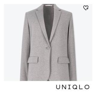 ユニクロ(UNIQLO)の【used】UNIQLO ユニクロ ジャージージャケット ビジネス オフィス(テーラードジャケット)