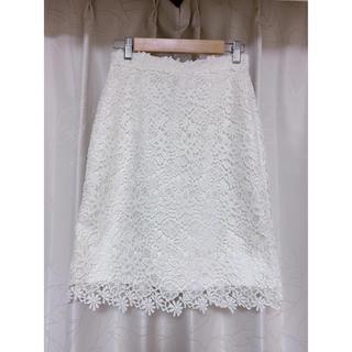 プロポーションボディドレッシング(PROPORTION BODY DRESSING)のプロポーションボディドレッシング ケミカルレーススカート(ひざ丈スカート)