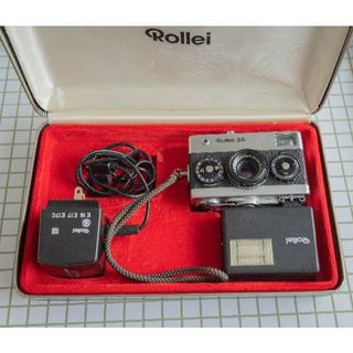 【完動品】Rollei35 Chrome Box セット【超美品】