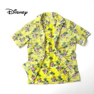 Disney - Desney公式 ミッキーマウス コットンアロハシャツ