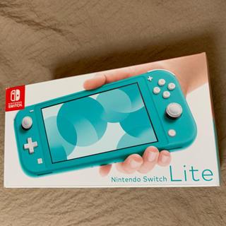 ニンテンドースイッチ(Nintendo Switch)のSwitch lite ターコイズ 送料無料 新品(家庭用ゲーム機本体)