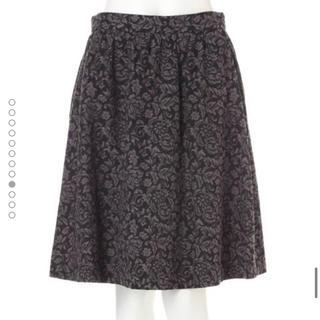 プロポーションボディドレッシング(PROPORTION BODY DRESSING)のローズ ジャガード スカート(ひざ丈スカート)