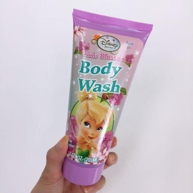 Disney(ディズニー)のハワイ購入♡ティンカーベル♡ボディウォッシュ♡新品未開封♡ コスメ/美容のボディケア(ボディソープ/石鹸)の商品写真