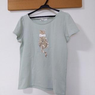 クチュールブローチ(Couture Brooch)のクチュールブローチ ネコちゃんが可愛いカットソー(カットソー(半袖/袖なし))