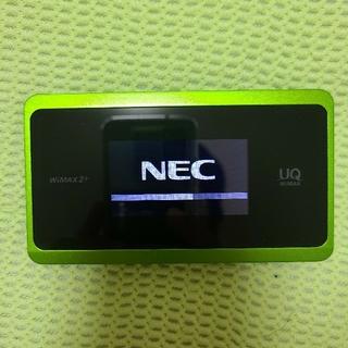 エヌイーシー(NEC)の Speed Wi-Fi NEXT WX06 WiMAXルーター(PC周辺機器)