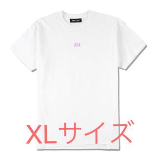 シー(SEA)のWIND AND SEA WDS ウィンダンシー ロゴTシャツ ホワイト XL(Tシャツ/カットソー(半袖/袖なし))
